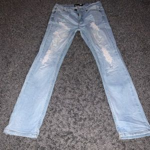 Ripped boys jeans